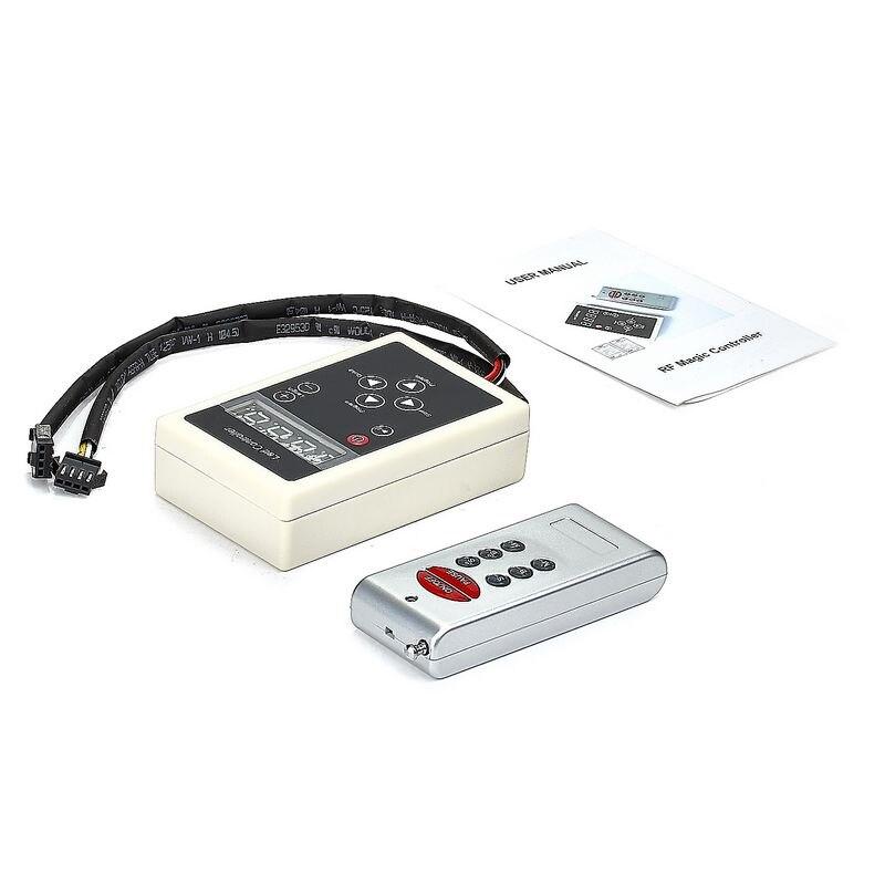 DC12V WS2811 1903 6803 RF Controller 133 Change Digital Dream Magic Color Chasing 1812 IC 5050 RGB Colorful LED Strip Light