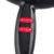 Profesional Secador de Pelo 1600 W Secador Soplador de Calor Negro Salón de Belleza 460115
