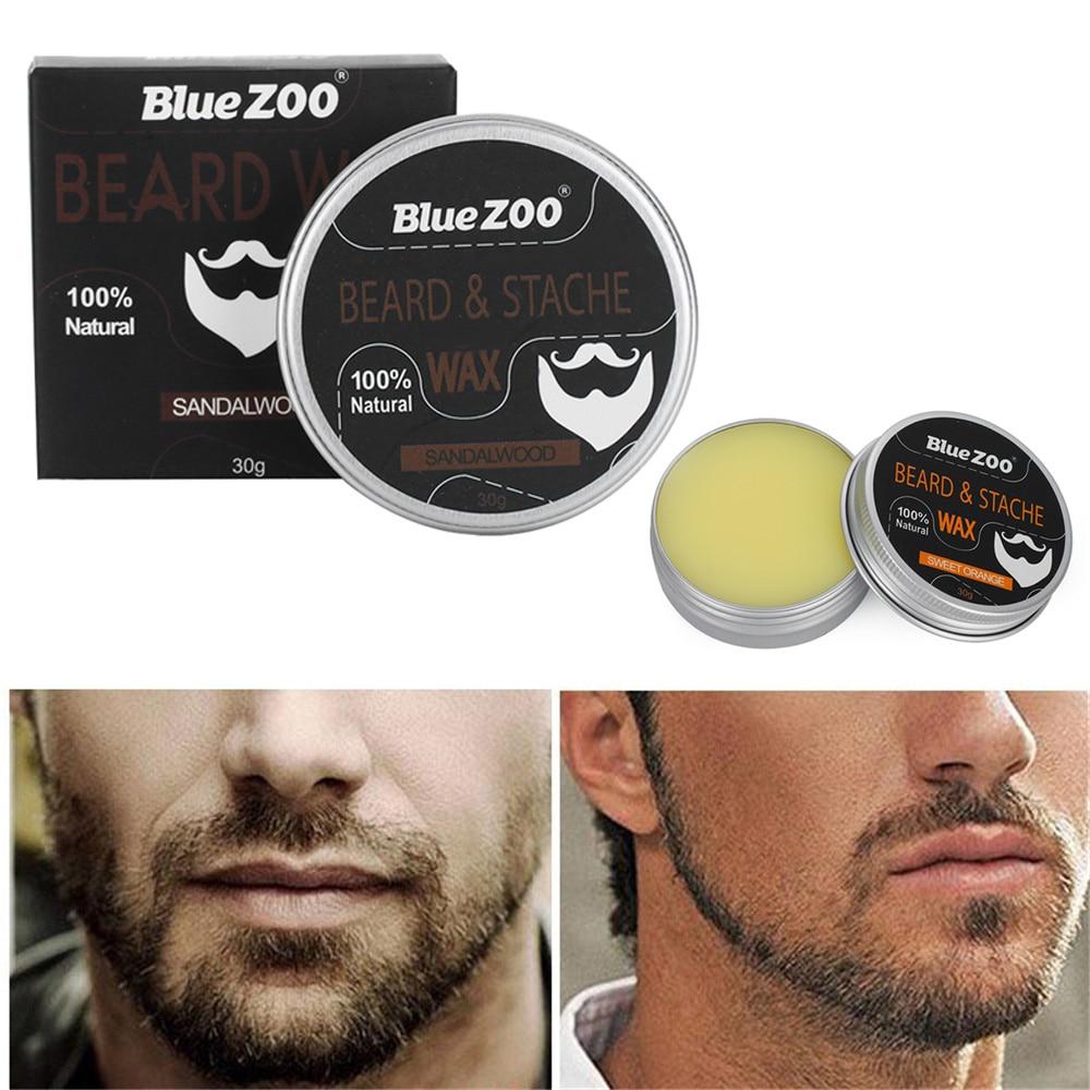 1 Pc Neue Ankunft Feuchtigkeitsspendende Conditioner Wachstum Natürliche Männer Pflege Wachs Bart Creme Schnurrbart Wachstum Mens Schönheit Ideales Geschenk FüR Alle Gelegenheiten