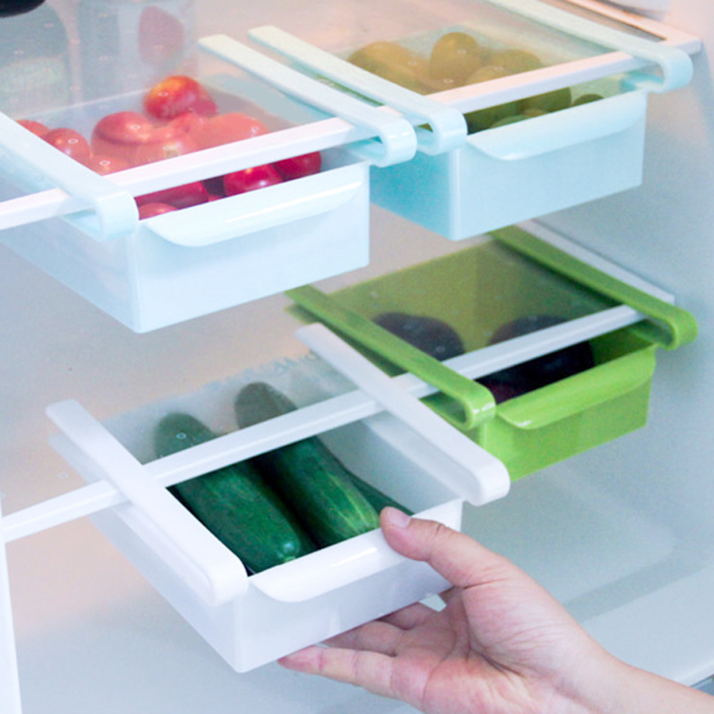 Food Storage Boxes Organizer Bins Refrigerator Kitchen Organizer ...