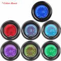 "EE support 2"" 52mm Turbo Boost Gauge Vacuum Digital Clocks Colors LED Light Boost Meter XY01"