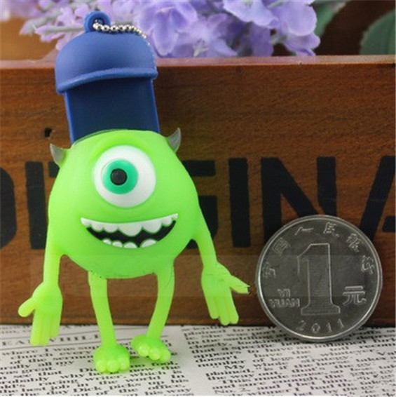 Monster university big eyeusb flash drive cartoon gift USB flash drive pen drive USB memory stick drives bulk gift S10 BB#21
