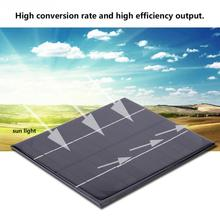 DIY Solar Power Panel Solar Panel 6W 12V Charger zonnepaneel for Battery Cell Emergency Lamp Light Outdoor Camping panel solar