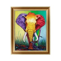 New Useful Home Embroidery Diamond Painting Series Chic Home Decor Painting Magic Round DIY Cross Stitch For Home Decors