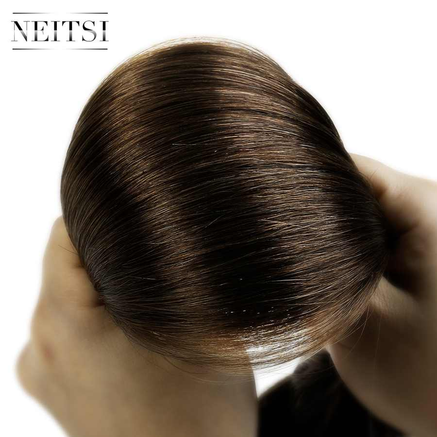 """Neitsi Remy Clip In On Human Hair Extensions Natural Straight 20"""" 24"""" 7pcs 16 Clips 8 Colors Double Drawn Clip Ins Fast Delivery"""