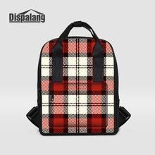 Dispalang женщины рюкзак Буге шаблон студент школьная сумка для девочек леди ноутбук рюкзак женский Повседневная сумка Mochila Feminina