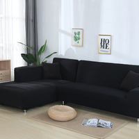 L Shaped Sofa Cover Spandex slipcover sofa Removable housse canape Sofa covers for Living Room Sectional Couch Cover sofa set
