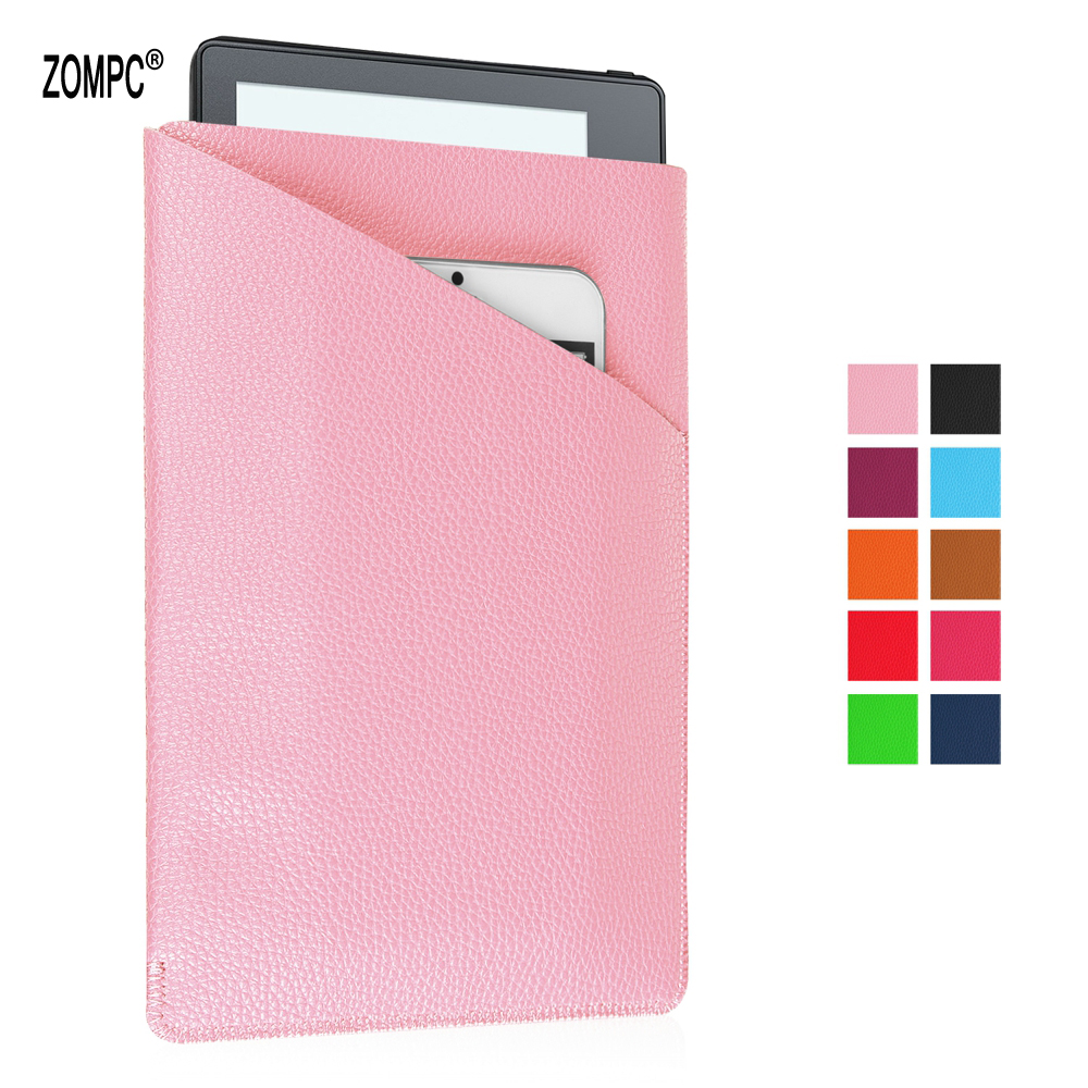 Luxury Leather Case Protective Tablet Cover Phone Pouch Bag For Amazon Kindle Fire 7 HD7 2015 2016 2017 Oasis 1 2 7 Tablet