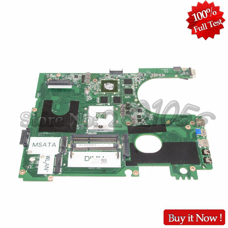 NOKOTION PC Main Board For Dell Inspiron 17R 7720 Laptop Motherboard DA0R09MB6H1 CN-072P0M 072P0M HD4000 GT650M DDR3 cn 0ptnpf 0ptnpf ptnpf main board for dell inspiron 3421 5421 laptop motherboard 1017u cpu ddr3