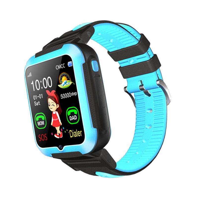 2018 coloré enfants montre intelligente Sport clôture électronique GPS montre-bracelet podomètre en temps réel moniteur Simple montres intelligentes