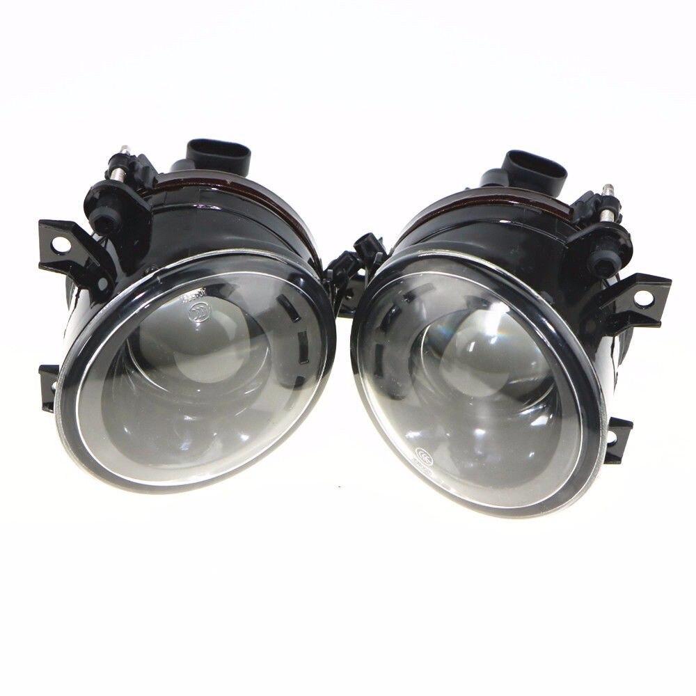 COSTLYSEED 1 Pair 9006 Plug 12v 55w Convex Lens Headlights Fog Lamp For VW Tiguan EOS Polo Touran Golf 1T0 941 699 C 1T0941700C
