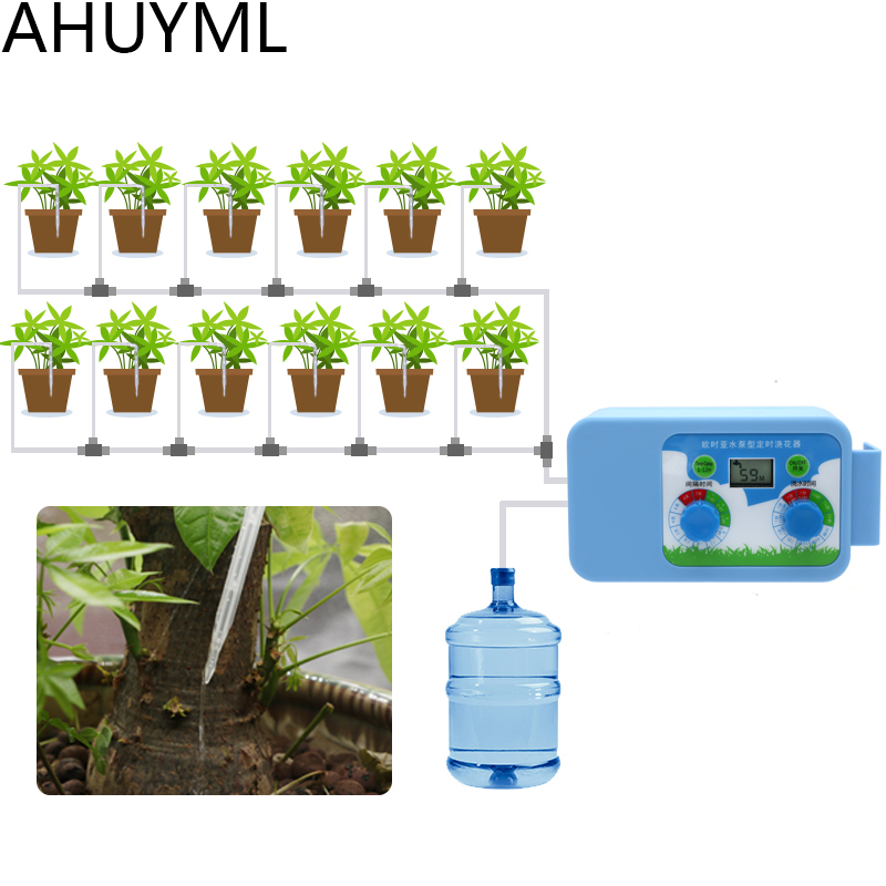 AHUYML LED Convenient Micro Irrigation Set Watering Flowers