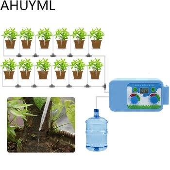 LED chaude pratique Micro Irrigation ensemble arrosage fleurs contrôleur automatique minuterie électronique minuterie eau jardin maison bureau|Programmateur arrosage jardin| |  -