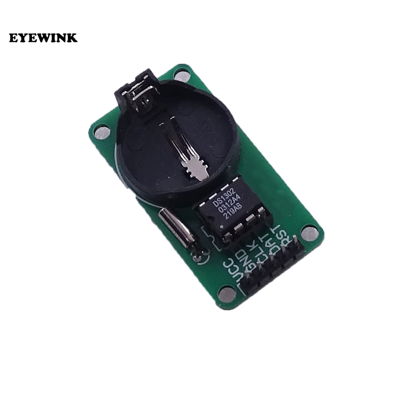 100pcs New  Arrival RTC DS1302 Real Time Clock Module For AVR ARM PIC SMD for Arduino-in Integrated Circuits from Electronic Components & Supplies