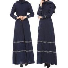 AIFEIYIYI Kaftan Dubai Arabic Turkey Long Hijab Muslim Dress Ramadan Abayas For Women 4.15