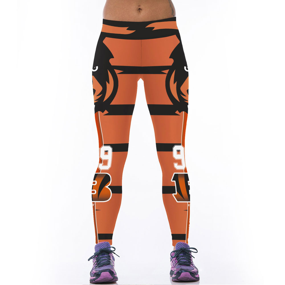 Jessingshow Hot Gym Trousers Sports Pants For Women Bengal -3567
