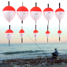 10pcs Oval EPS Sea Fishing Float Set 2g-50g Floating Float with Sticks Pesca Ocean Rock Lake Fishing Buoy Tackle