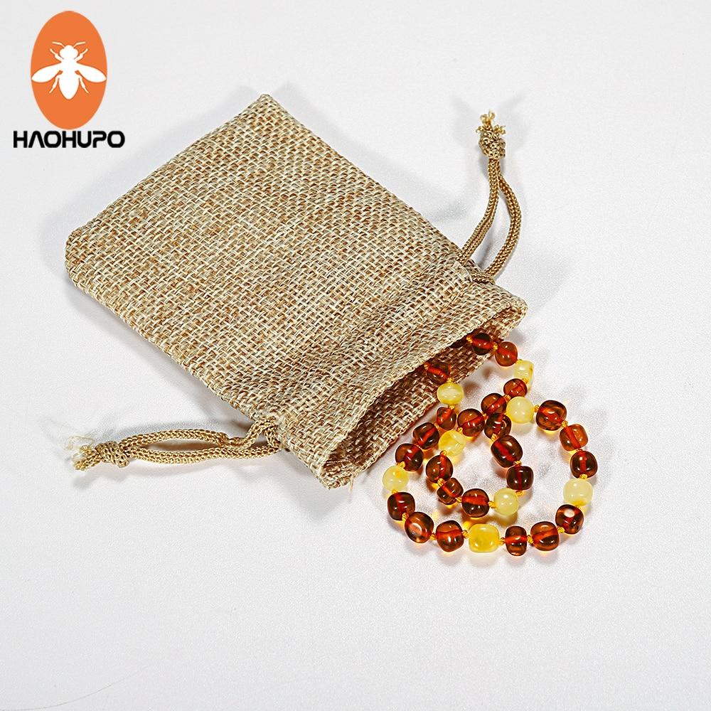 HAOHUPO Collar de ámbar natural Certificado de suministro - Joyas - foto 3