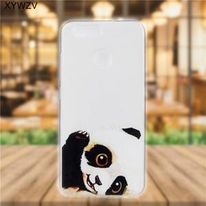 Image 3 - sFor Huawei Nova 2 Case Cover Soft Silicone Pattern Phone Case For Huawei Nova 2 Back Cover For Huawei Nova2 Case Coque Fundas <