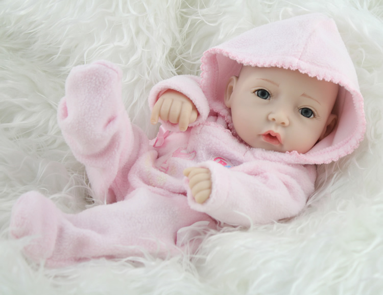 Mini Baby Doll Newborn Baby Born Toys Full Vinyl Body