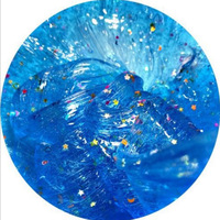Slime Slim crystal clay star moon blue ocean plaster 100ml crystal mud decompression toy