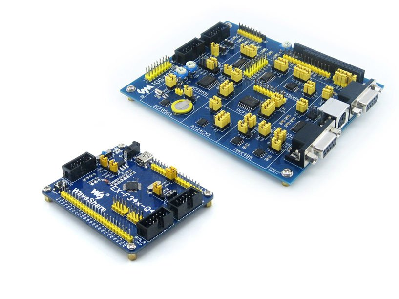 C8051F Series C8051F340 8051 C8051F34x Evaluation Development Board Kit + DVK501 System Tools =EX-F34x-Q48 Premium Free Shipping цена