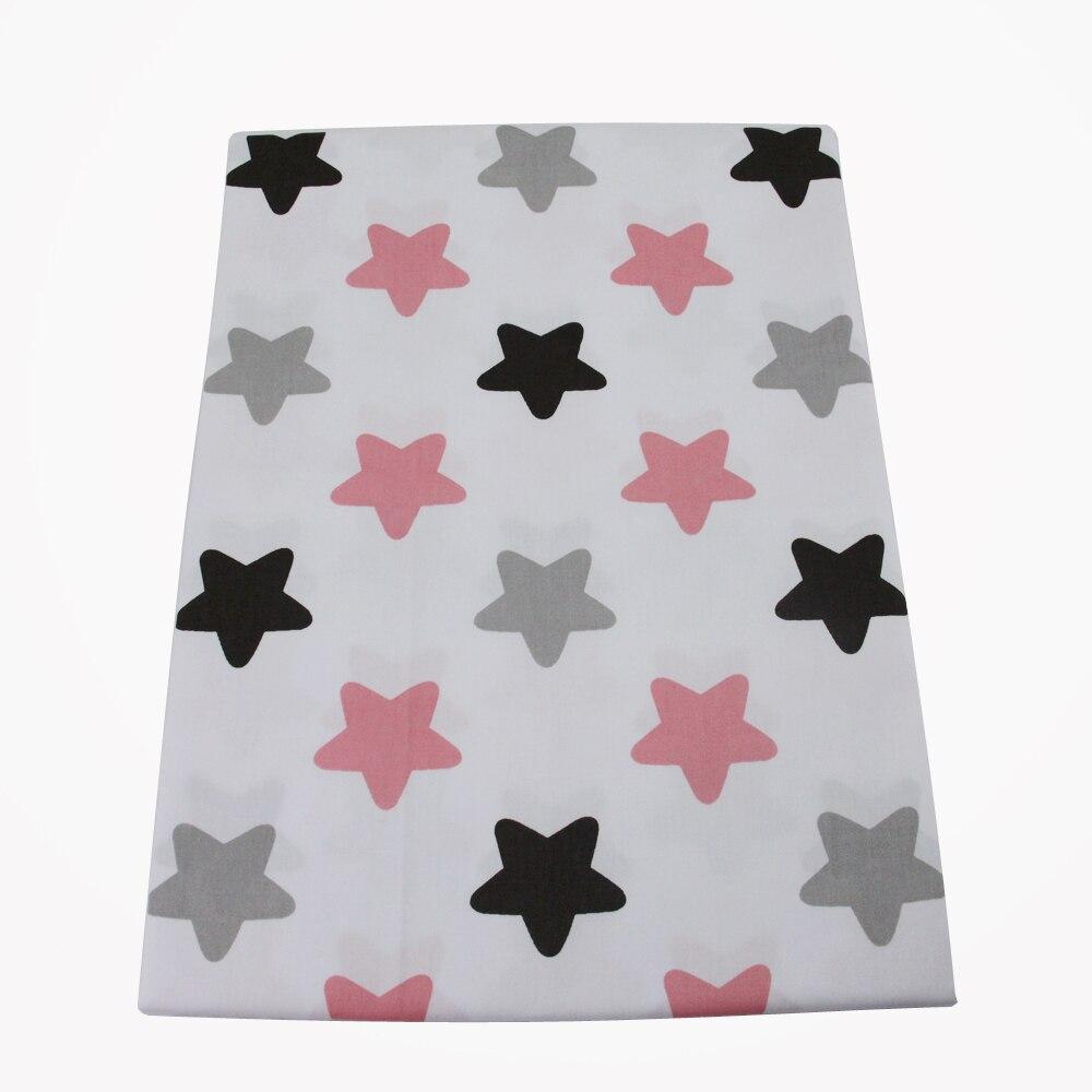 50*145 CM patchwork impresa estrella tela de algodón 100 por ciento para Niños T