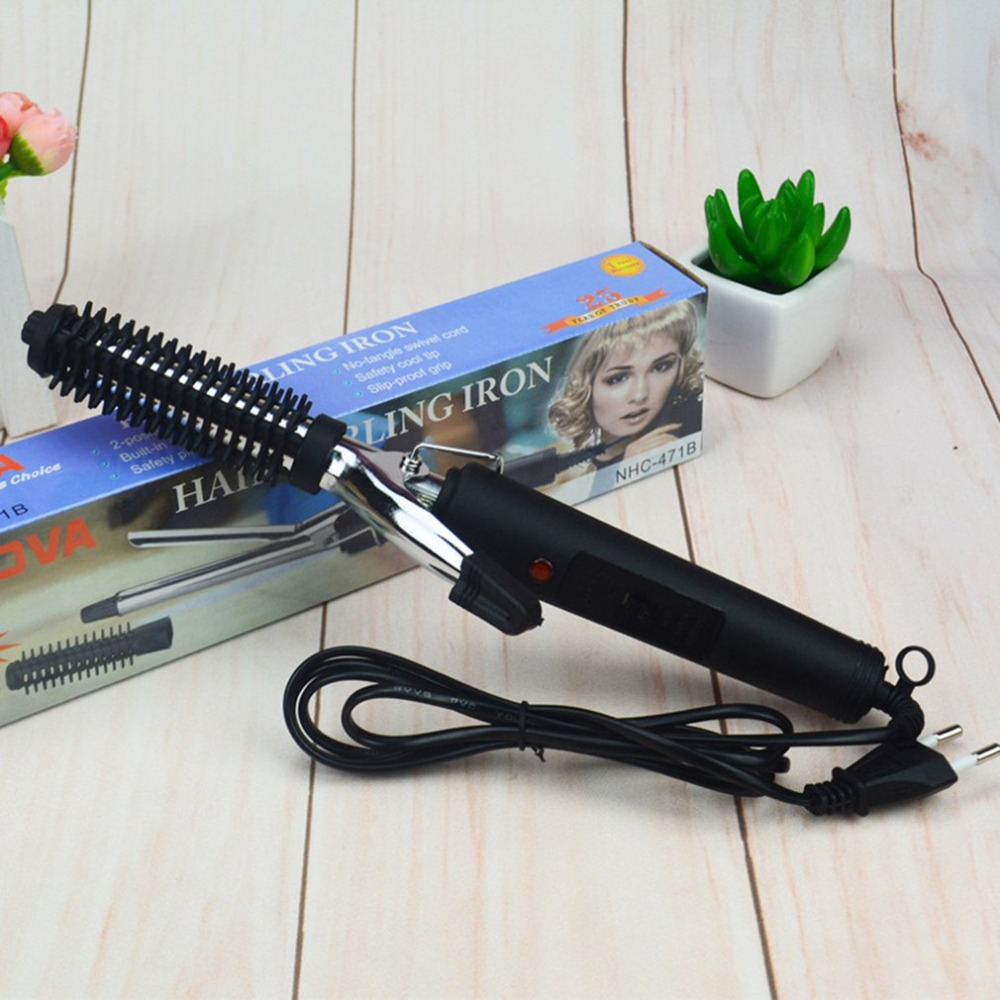 Curlers Conical Curling Iron Single Tube Ceramic Glaze Pear Flower Cone Electric Hair Curly Hair цена