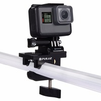 PULUZ Multifunctional Fixing Clamp Universal Aluminum Alloy Mount Action Camera Accessories For GoPro HERO4 5