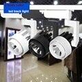 1 pcs 15 w LEVOU Faixa COB Luz de Teto luzes do Ponto de Iluminação Da Trilha Trilho 20 W 30 W 36 W 2 3 4 ferroviário fase luz para iluminação comercial