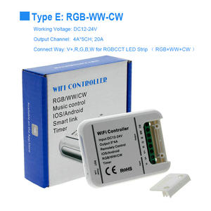 Image 5 - DC12V 24V MINI WIFI RGB/RGBW/RGB WW CW LED Strip Controller Smartphone And Timer Mode Magic Home Mini Wifi RGB Led Controllers