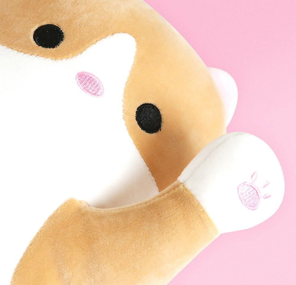 VOZRO 90 Cm Cute Cat Sleep Long Plush To Send Children Knee Pillow Almofada Coussin Overwatch Cojines Decorativos Cushion Emoji in Cushion from Home Garden
