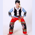 Men hmong clothes chinese costume  Miao Clothing Chinese Ethnic Costumes mens stage wear Square Dance Stage