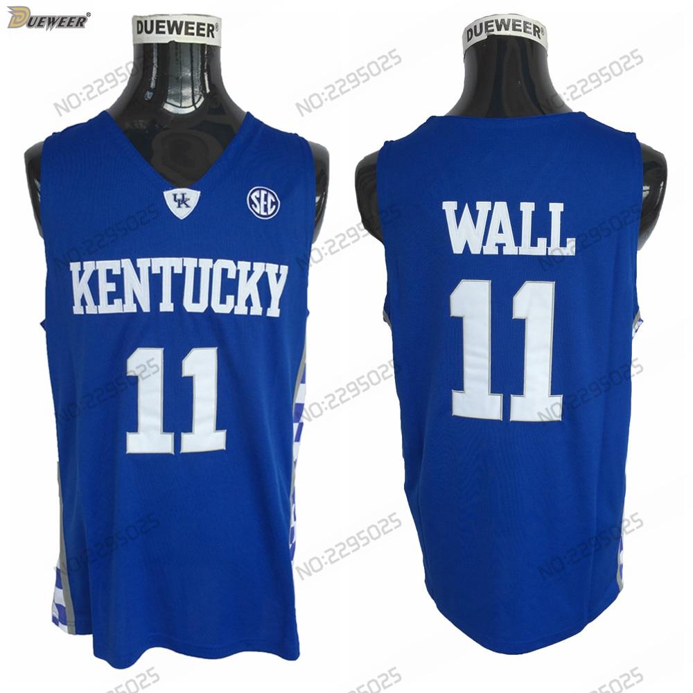 ... 50% off dueweer mens 2018 john wall kentucky wildcats basketball  jerseys 11 john wall college 97d976df0