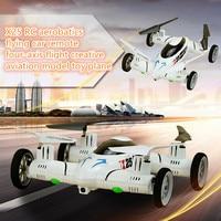 Rc Uçağı Uçan Araba X25 8CH HD ile 2.4G 6-Axis RC Quadcopter kamera rc Helikopter Mini Katlanır Drone X9 toyVS dönmek için Bir anahtar