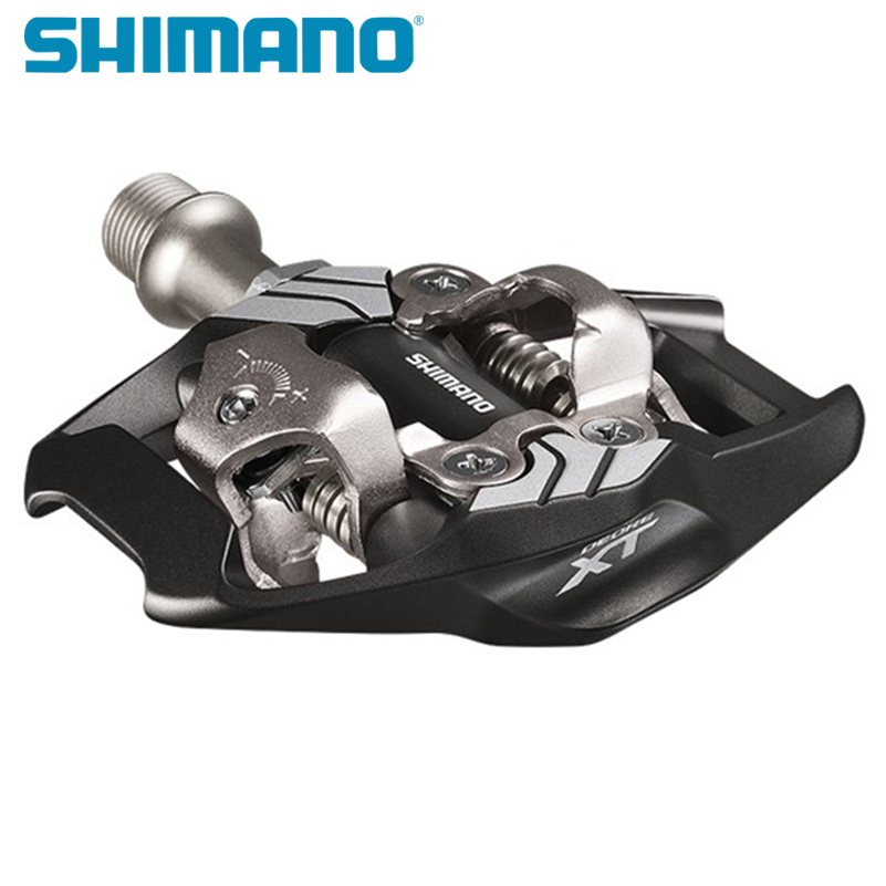 Pédales de vélo Shimano XT PD-M8000 M8020 pédales auto-bloquantes SPD pour composants vtt utilisant pour les pédales de vélo de course