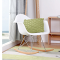 Leisure living room furniture Plastic fashion living room chair Balcony rocking chair.Multi color optional dining chair