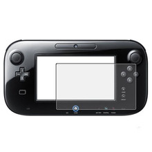 Factory Price Anti-Glare LCD Screen Skin Clear Film Protector Cover for Nintendo Wii U Gamepad