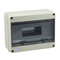Free Shipping CE Approval 8 Ways Waterproof ABS Plastic Mini Distribution Box Circuit Breaker Box 195