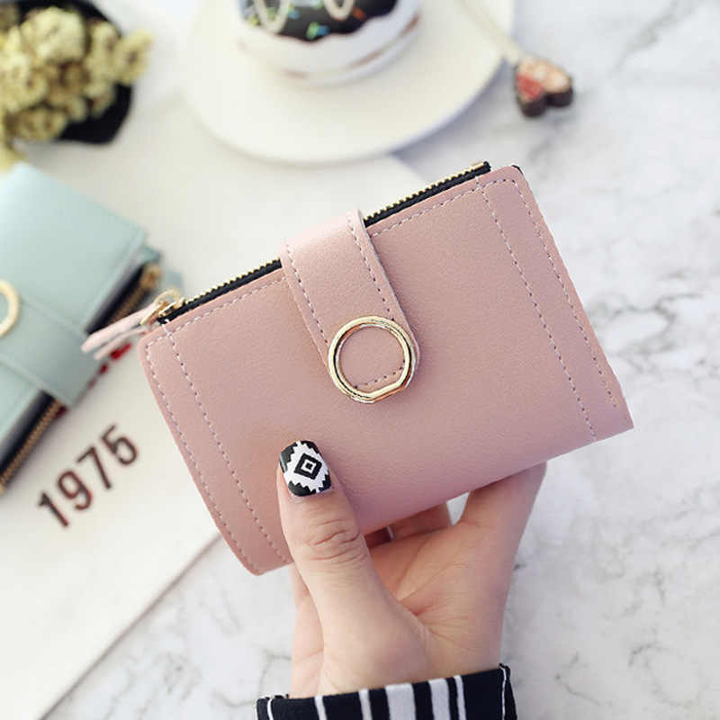 2019 bolsa de embreagem feminina feminina bolsa de dinheiro clipe de carteira de couro de alta qualidade