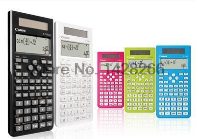 1 Pcs Canon F 718S font b calculator b font Student Science Function font b Calculator