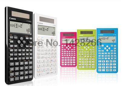 1 Pcs Canon F 718S font b calculator b font Student Science Function font b Calculator