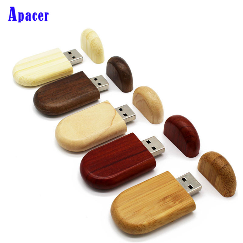Apacer Customize LOGO USB flash drive 4gb 8gb 16gb 32gb pen drives Maple wood Packing box