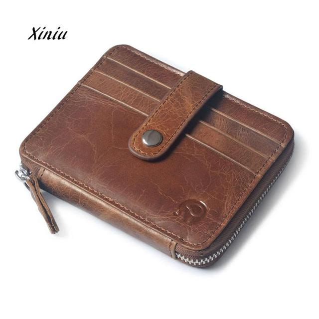 42e061158146 Aliexpress.com : Buy 2018 New Design Men's Leather Wallets Cowhide Bifold  Wallet ID Credit Card Holder Coin Purse Brand Wallets For Man Drop Shipping  ...