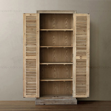 Nordic expression / Pa Guda classic American wood furniture / Farmhouse / recycle old fir / bookcase / multi cabinet