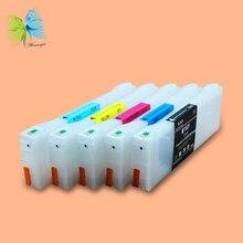 Winnerjet 6 color 700ml T6521-T6524,T6528,T6529 Empty refill ink cartridge for FujiFilm DL650 printer
