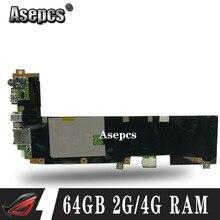 Akemy для ASUS Transformer book T100H T100HA T100HN T100HAN материнская плата планшетных ПК 64 Гб SSD + 2 ГБ/4 Гб ram Z8500 cpu