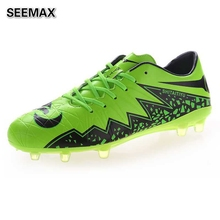 2016 Outdoor Soccer Shoes Men Women Soccer Cleats HG AG Football Shoes Boots Brand Original Boys Girls Man Training Sneakers