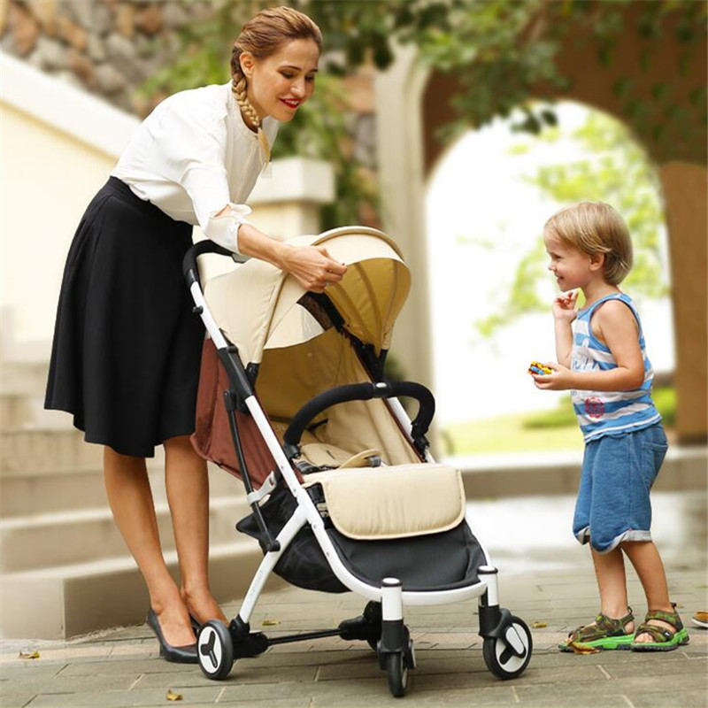 Portable Baby Stroller for dolls 3 in 1 yoya plus ultra-lightweight high landscape baby carriages for newborns