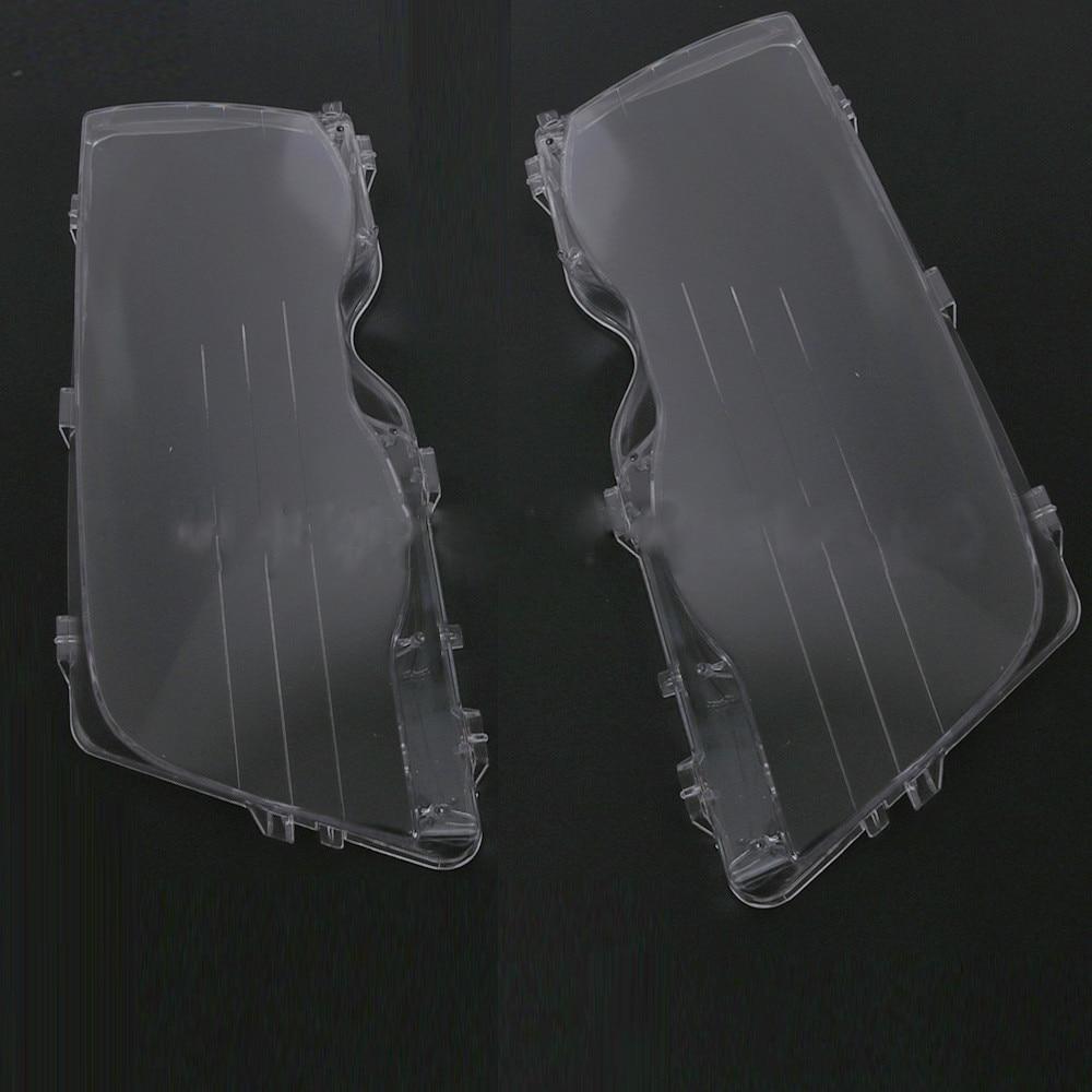 Couvercle de coque en plastique pour phare de voiture pour BMW série 3 E46 4 portes 1998 1999 ~ 2001 protection de phare automatique (4 portes)